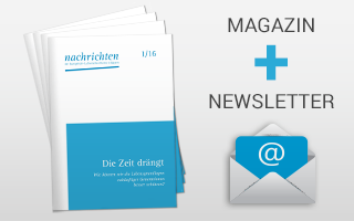 Magazin und Newsletter